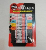 "9pk 39"" Round Shoe Laces [Assortment]"